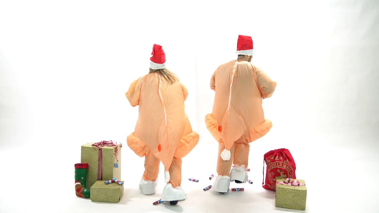 Bodysocks Adult Inflatable Turkey Costume  sc 1 st  YouTube & Bodysocks Adult Inflatable Turkey Costume - YouTube