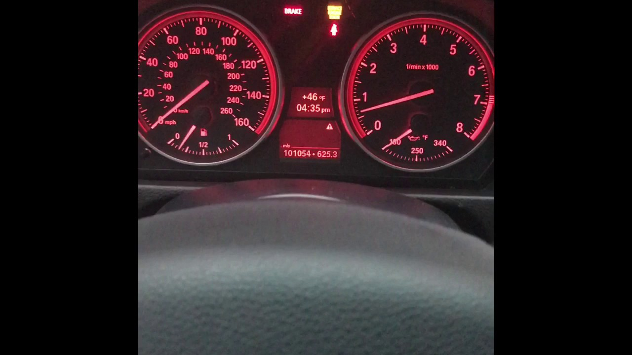 BMW Dashboard Lights Going Crazy Diagnostics From BMW YouTube - Signs on dashboard bmw