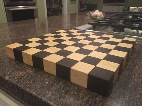 Making a Chess Board From Exotic Wood