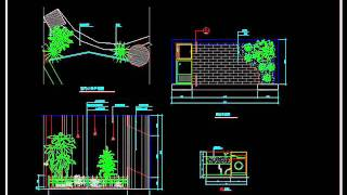 Autocad Block Download Gardening landscape design