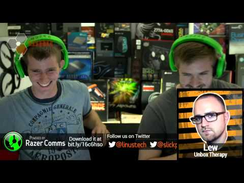 The WAN Show : Chromecast, Linus Pissed Himself, 4K Monitors, and Guest LEW - July 26, 2013