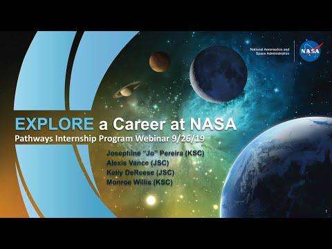 NASA Pathways Webinar Fall 2019
