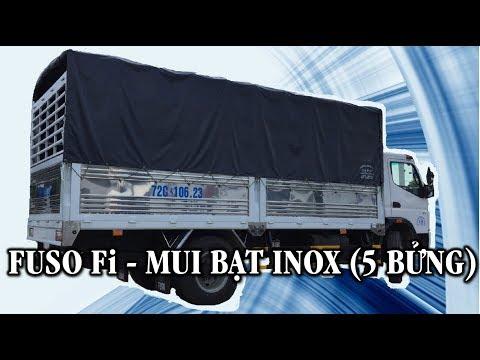Xe ti Fuso Fi 7,3 tn Mui Bt Inox 5 Bng 0932 032 125