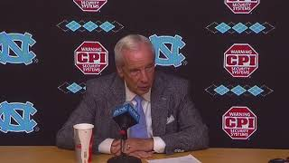 UNC Men's Basketball: Roy Williams Post Bucknell Press Conference