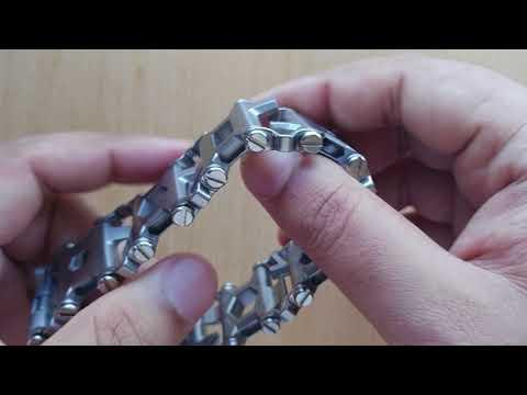 Leatherman Tread 29 in 1 multitool bracelet