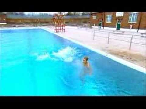 Zoe Salmon At An Open Air Swimming Pool Youtube