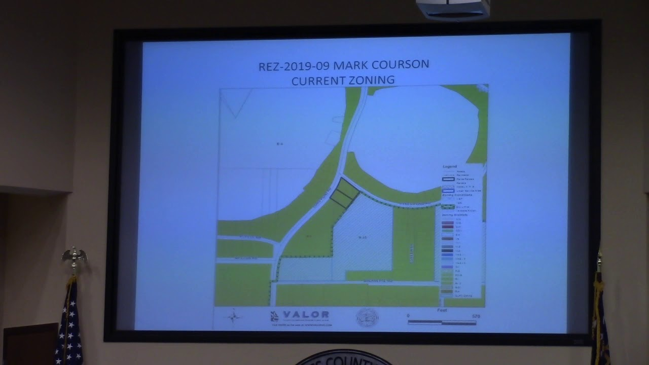 6a  REZ-2019-09 Mark Courson, 5761 Long Pond Rd  R-1 to R-10 @ LCC Work -  2019-07-08