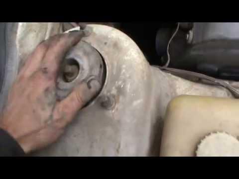 замена ступичного подшипника передка таврия славута - YouTube