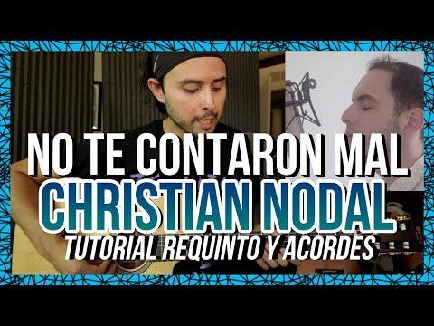 No Te Contaron Mal - Christian Nodal - Tutorial - Guitarra - ft. JOSE ESPARZA