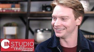calum worthy explains the meaning of bodied working with eminem in studio with thr