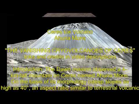 Ceres Lights , Ice Mound and mysteries 2017 - news from a tourists orbit with Dawn