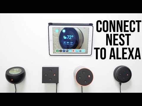 How To Connect A Amazon Alexa To An  Nest Thermostat