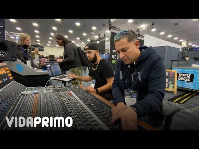 DJ Nelson - NAMM 2020 - Neve Mixer - SSL Origin Console