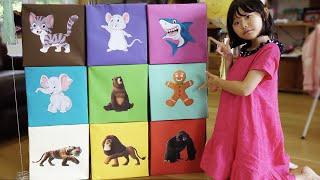동물로 변신! 라임 고양이가 됐어요! 상어가 된 라임파파?! 마법의 동물 과자 먹고 변신 놀이 해요! Animal Transformation Magic Cracker