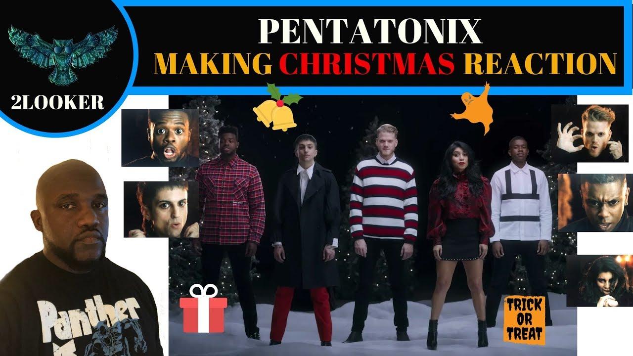 Pentatonix Making Christmas.Making Christmas Pentatonix From The Nightmare Before Christmas 2looker Reaction