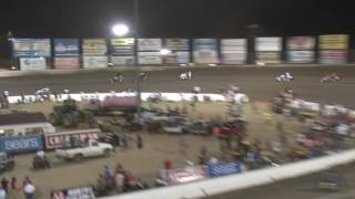 Federated Auto Parts Speedway at I-55 POWRI Lucas Oil Midget Feature Highlights