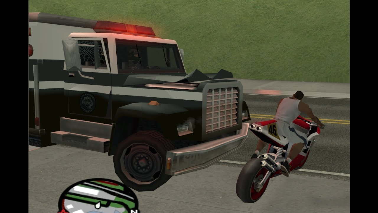 mission passed with using cheat code in GTA San Andreas ...
