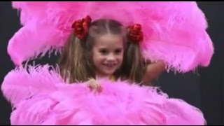 Dance moms - The girls rehersal For there NAKED GROUP DANCE!! (Season 2 Episode 9)