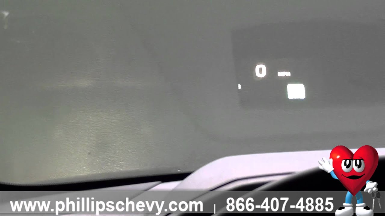 Phillips Chevrolet - 2016 Chevy Tahoe – Heads Up Display ...