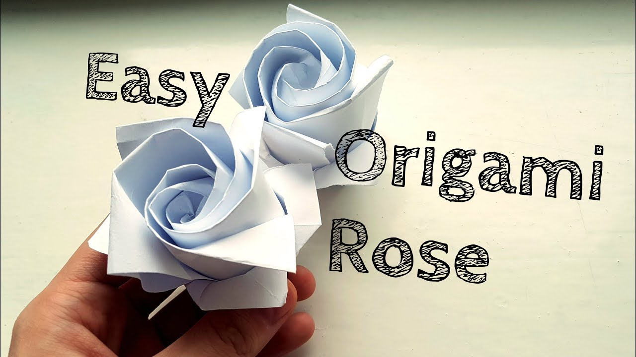 Origami Rose Instructions Pdf – Money cakepins.com | Оригами роза ... | 720x1280