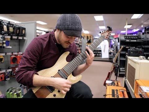 Seeing my signature guitar in my hometown Guitar Center