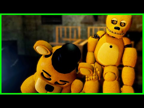 THE GOLDEN ANIMATRONICS ARE BACK... - Final Nights 2 - Five Nights at Freddy's 4 Fan Game