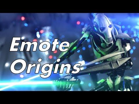 Battlefront II Hero Emote Origins