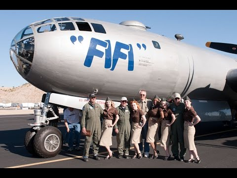 """Boeing B 29 Superfortress  """"FiFi"""" at   CAF AirPower History Tour"""
