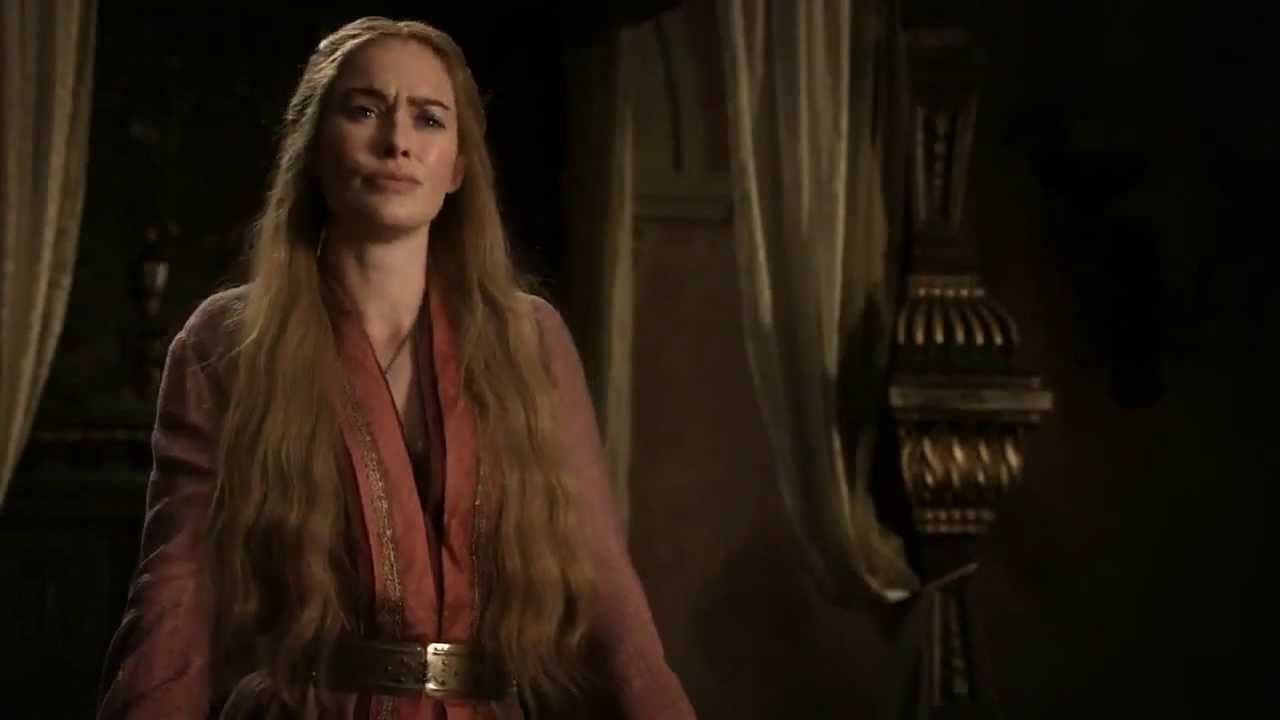Image result for cersei talks about lyanna stark to robert