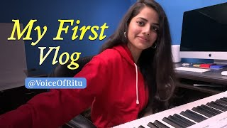 My First Vlog - My Studio Tour Finally | Ritu Agarwal