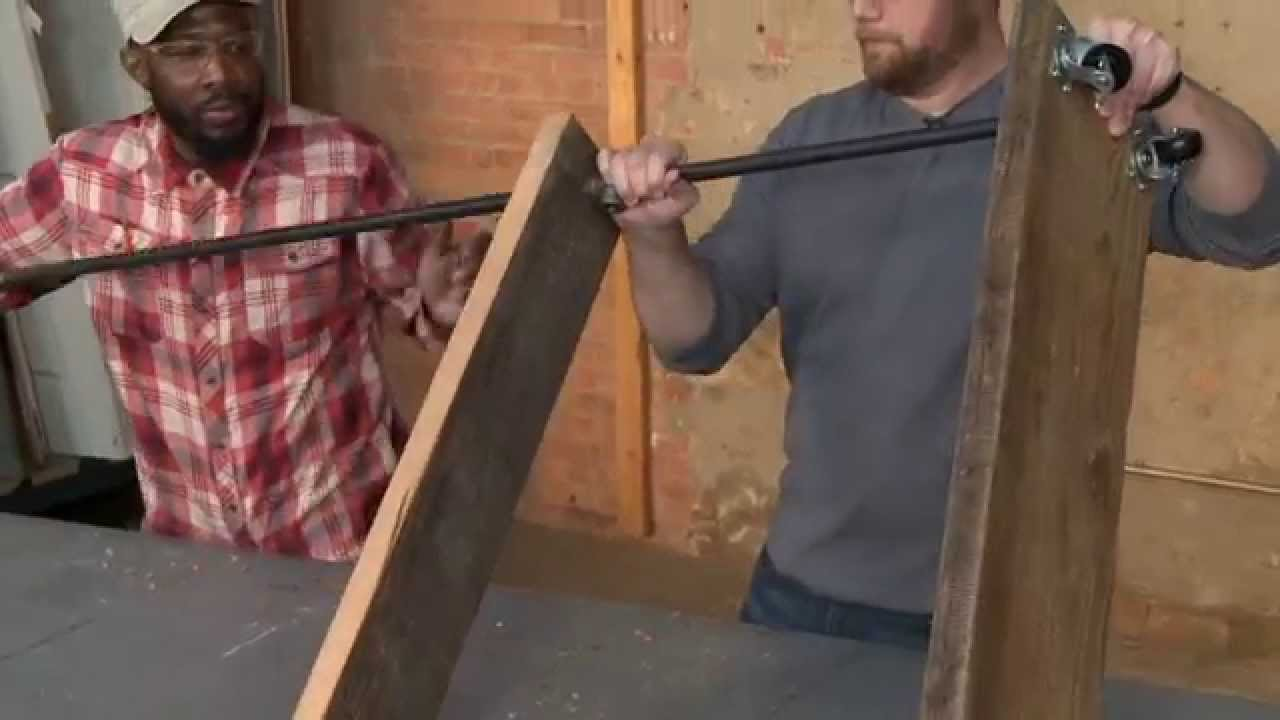 How To Build A Garment Rack Youtube
