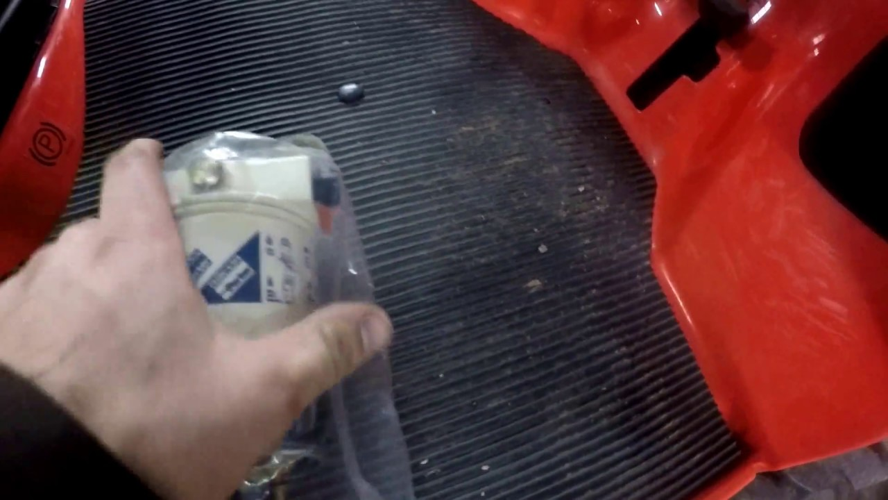 if you own bx watch this video fuel filter upgrade [ 1280 x 720 Pixel ]