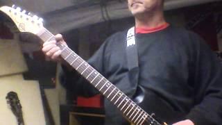 """Die Toten Hosen """"Niemals einer Meinung"""" guitar cover"""