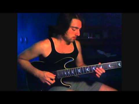 Vibrations   Marco Sfogli guitar solo   Alex Argento (EGO)