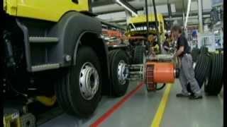 Man Truck Factory in Munich