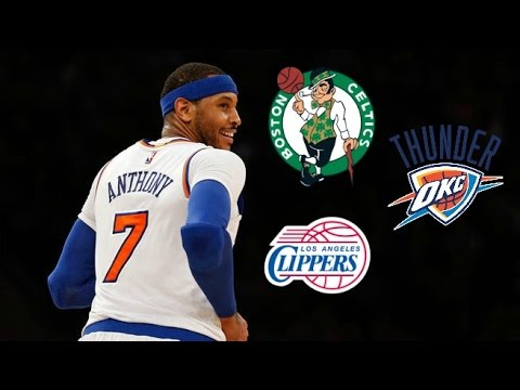 Carmelo Anthony Trade Rumours Update