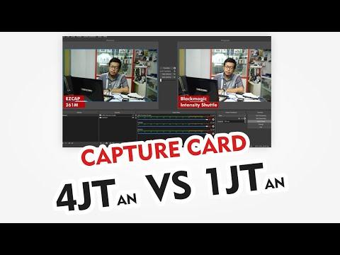 Perbedaan Hasil Capture Card Blackmagic Intensity Shuttle VS EZCAP 261M (4jtan VS 1jtan)