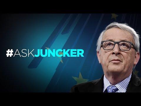#AskJuncker - Interview en direct avec le président de la Commission européenne