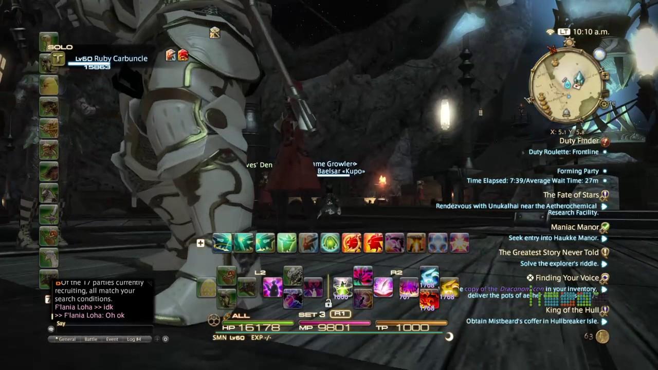 Final fantasy 14 duty roulette
