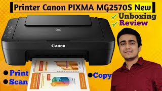 Canon Pixma MG2570S Unboxing Set up Use Review in Hindi Best Printer for Home Use