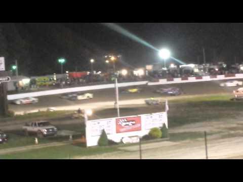 Steven Deinhardt's feature race @Penn Can Speedway 9/05/2014