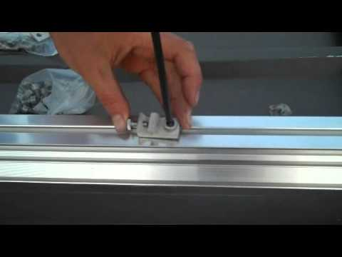 How to properly ground Solar PV Racking Module Rails