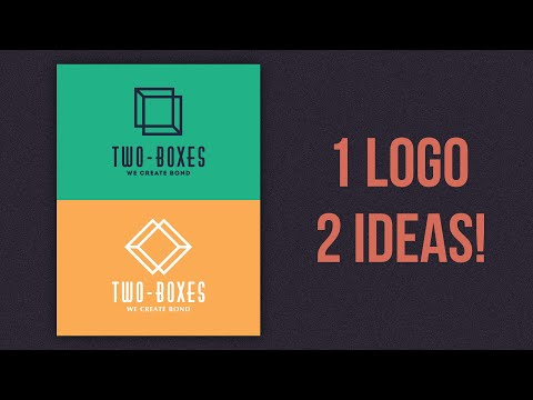 Minimal Logo Designing Ideas Affinity Designer Tutorial thumbnail
