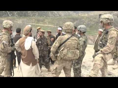 Civil Affairs Reservist Aid Afghans