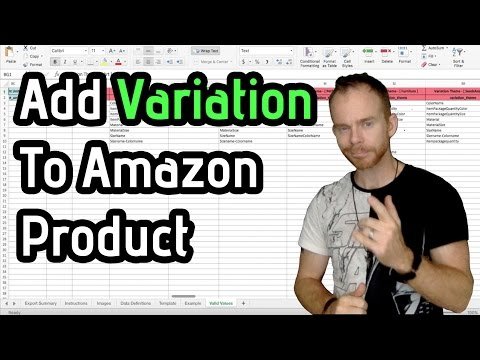 How to Add Variations to a Product In Your Amazon Store: Flat File Explained