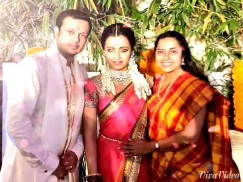 Engagement Varun Manian and Trisha Krishnan