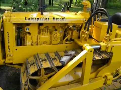 Caterpillar D2 D4 detailed starting sequence