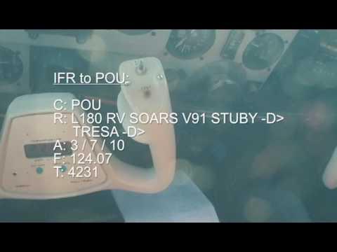 IFR: HPN to OXC || OXC to POU || POU to HPN