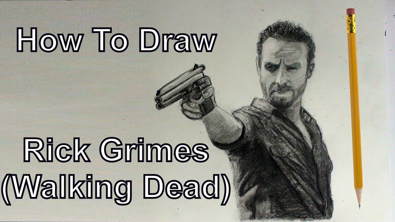 YouDraw: How To Draw Rick Grimes Walking Dead Step By Step Easy