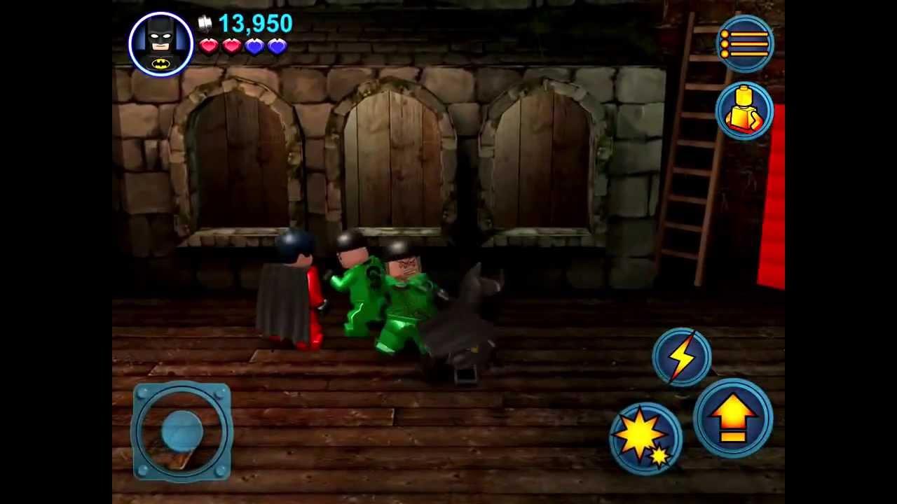 lego batman 2  dc super heroes ios iphone    ipad gameplay